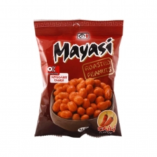 Mayasi Roasted Peanuts Chili Flavour 75 g