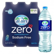 Al Ain Zero Sodium Water Bottle 1.5L*6