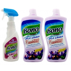 Bono Floors Freshener 800ml*2 + Air Freshener 500ml