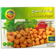 NABIL CHICKEN POPCORN PACKET 400GM
