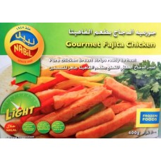 NABIL GOURMET FAJITA CHICKEN 400GM
