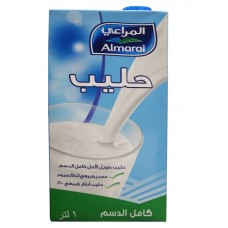ALMARAI FULL FAT 3%FAT 1LTR (CRN)