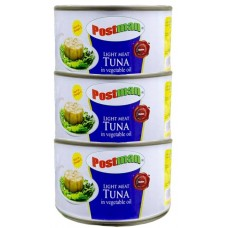Postman light tuna 160gm * 3