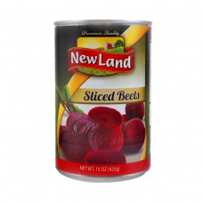 New Land Sliced Beets 425 G.m