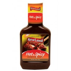 New Land Hot & SpicyBarbecue Sauce 510 gm