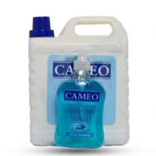 Cameo Moisturizing Liquid Gallon +Hand Wash Blue Marine 3.5L+500ml