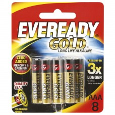 Eveready Gold Batteries AAA A92 BP4