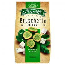 Bruschette Maretti with Spinach And Cheese 70g
