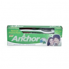 Anchor Mint Gel Toothpaste with Toothbrush 135G