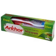 Anchor Miswak Toothpaste with Toothbrush 120G