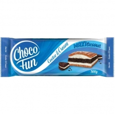 Choco Fun Cookie Cream 300g