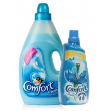 Comfort Blue Fabrics Softener 3 liters + Comfort Concentrated 650ml
