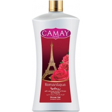 Camay Romantique Shower Gel with Rose Scent 1 Liter