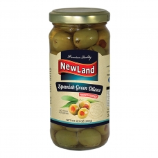 Newland Green Olives Filled with Sweet pepper 240g