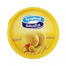 SAUDIA MANGO ICECREAM 10/1 500 ML