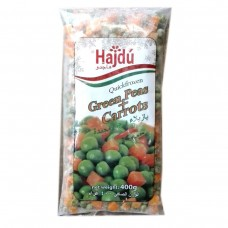 Hajdu Frozen Green peas and Carrots 400g