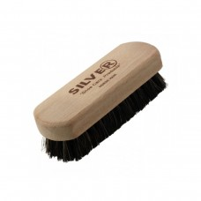 SILVER shoe brush