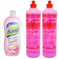 Golden Dishwashing Liquid 1 Liter*2 + Bono Air Freshener 800 ml