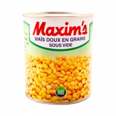 MAXIMS WHOLE SWEET CORN 340GR T