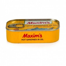 MAXIMS Sardine in oil with pepper