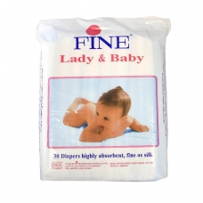 FINE LADY AND BABY 30P I.UN