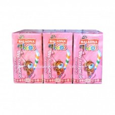 baladna milk strawberry 125 ml*6 pcs