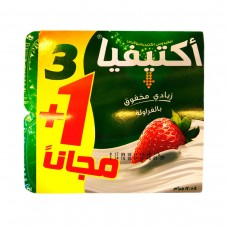 AL SAFI ACTIVIA STRAWBERRY 4X120GR(1FREE