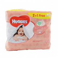Huggies Wetwipes baby Soft Skin