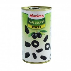 Maxims Spanish Black Olives chopped 360 g