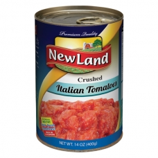 New Land Crushed Italian Tomatoes 400 Gm
