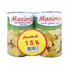 Maxims Mushrooms Slices 425*2