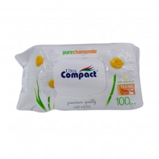 Ultra Compact Wet Wipes Chamomile 100p
