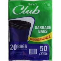 Club waste bags 50 gallons (20 bags