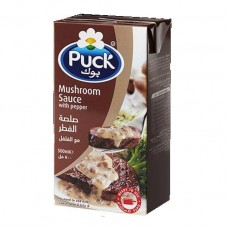 PUCK Mushroom Sauce with Pepper 500 ml